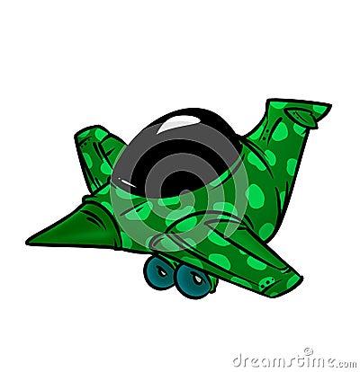 Airplane army khaki