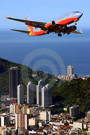 Airplane in Brazil
