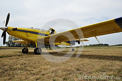 Airplane crop duster