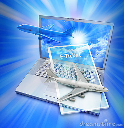 Airplane E Ticket Travel Computer