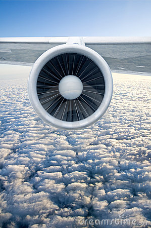 Free Airplane Engine Stock Image - 10870511