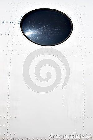 Airplane exterior fuselage