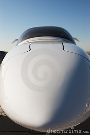 Airplane front part