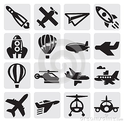 Free Airplane Icon Stock Images - 26369714