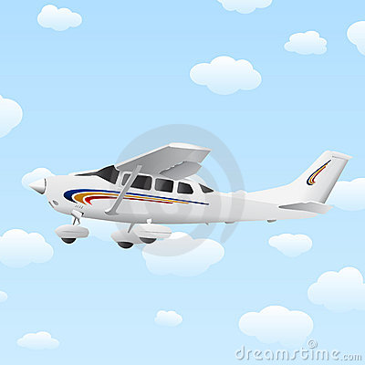 Airplane illustration