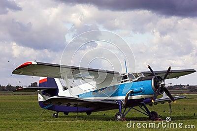 Airplane oldtimer