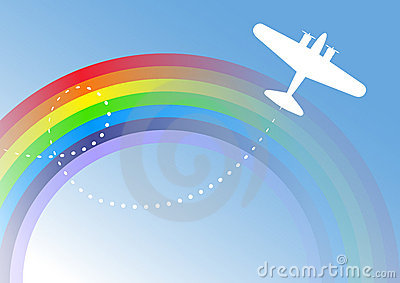 Airplane Over The Rainbow