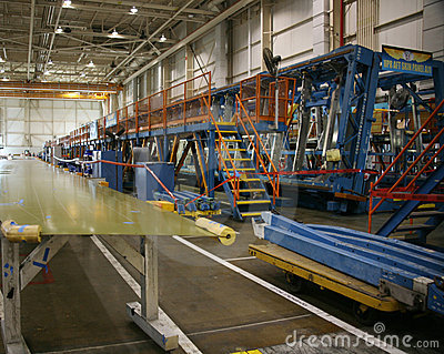 inside aerospace production facility - photo #20