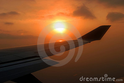 Airplane s wing