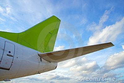 Plane Tail on Airplane Tail  Click Image To Zoom