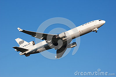 Airplane take-off Editorial Stock Image