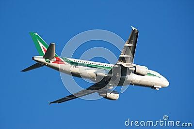 Airplane take-off Editorial Image