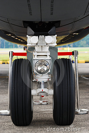 Airplane Tyre