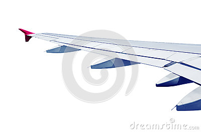 Airplane wing isolated