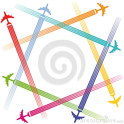 Airplanes and air travel