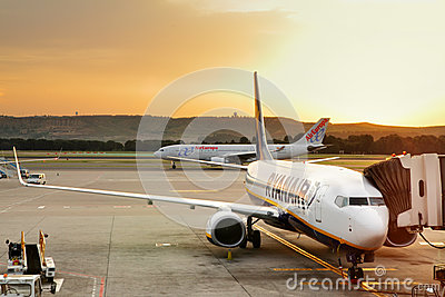 Airport Editorial Photography