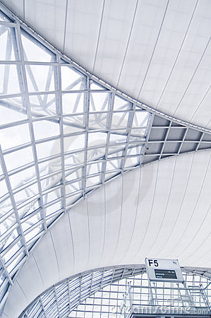 Airport Architecture Stock Images - Image: 16347134