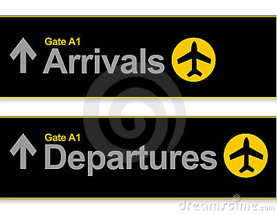 Airport Arrival and departures