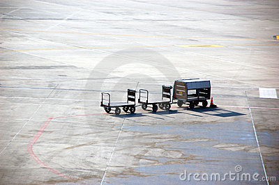 Airport baggage carrier
