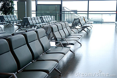 Airport Chairs Royalty Free Stock Images - Image: 15182919