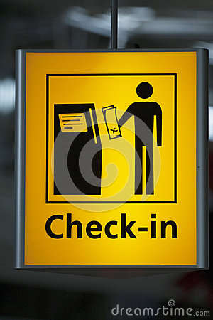 Airport Signs Stock Images - Image: 997214