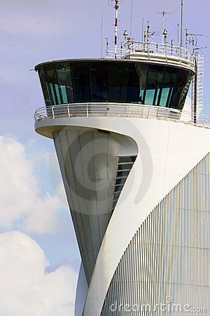 airport control Tower building
