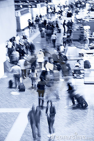 Free Airport Crowd Stock Images - 16350884