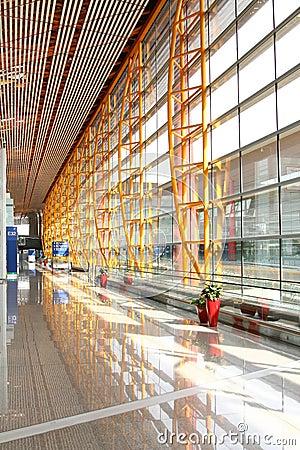 Airport Departure Area