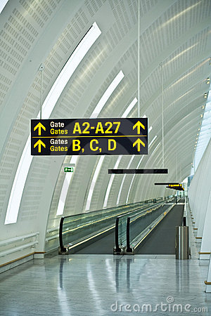 Airport gates guide