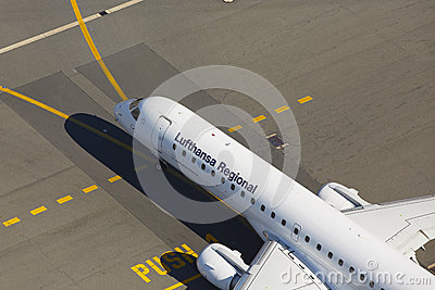 Airport Editorial Stock Photo