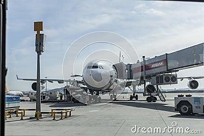 Airport sabiha gokcen Editorial Stock Photo