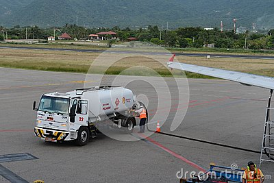 Airport in Santa Marta Editorial Photo