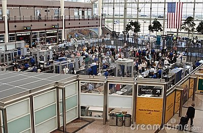 Airport Security Editorial Image