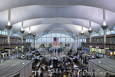 Airport security Editorial Stock Photo