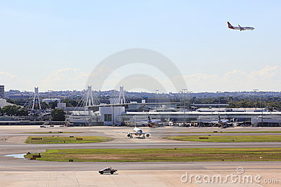 Airport Sydney Editorial Stock Photo
