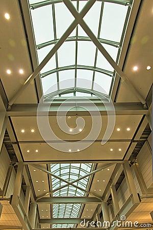 Airport terminal building.