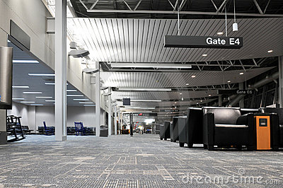 Airport Terminal Interior Royalty Free Stock Photo - Image: 12876695