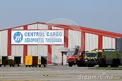 Airport in Timisoara - Romania Editorial Stock Photo