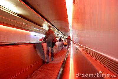 Airport transfer (abstract)