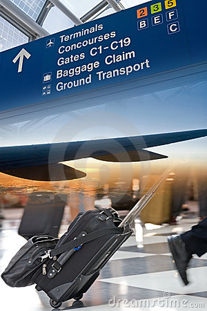Airport Travel Montage