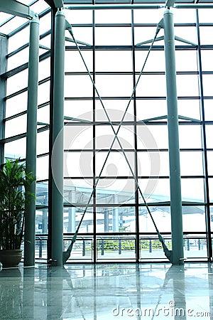 Free Airport Window Royalty Free Stock Photos - 14755868