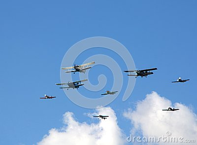 Airshow Editorial Stock Image