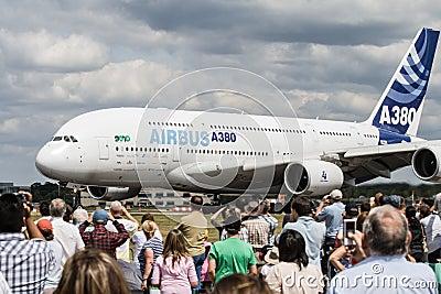 Airshow Airbus Editorial Image