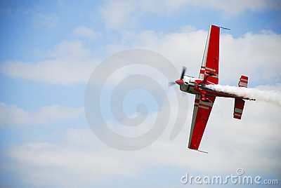 Airshow airplane