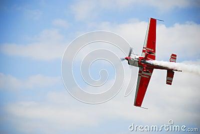 Airshow airplane