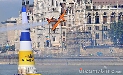 Airshow in Budapest - Red Bull air race- Editorial Photography