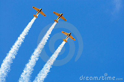 Airshow Formation Editorial Photography