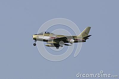 Airshow Jet Editorial Image