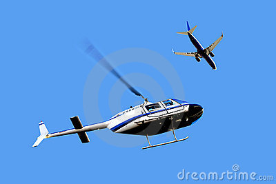 Airtraffic - Helicopter and Airplane