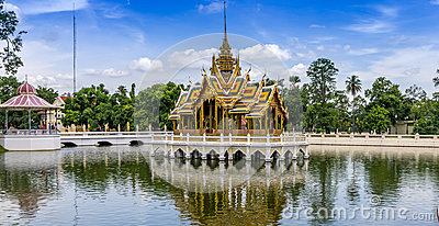 Aisawan Thiphya-Art (Divine Seat of Personal Freedom), a pavilio Editorial Stock Image
